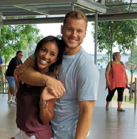 Tayshia Adams was the final contestants of The Bachelor starring Colton Underwood.