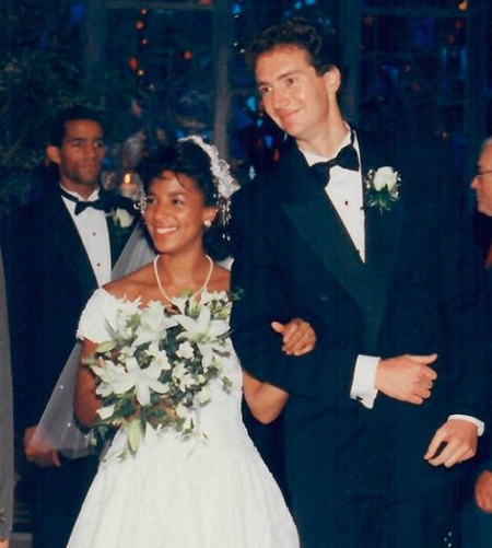 The Wedding Photograph Of Susan Rice and Ian O. Cameron