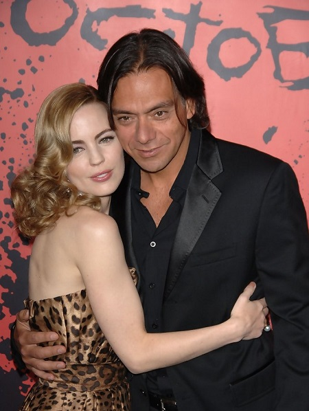 Melissa George With Her Former Husband, Claudio Dabed