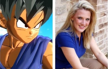 The 49 aged voice actress Stephanie Nadolny has provided a voice of child Goku in the Dragon Ball franchise.
