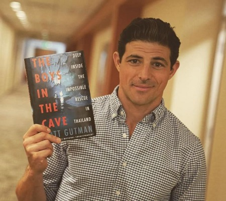 he ABC News Chief National Correspondent Matt Gutman has authored the book 'The Boys in the Cave.'