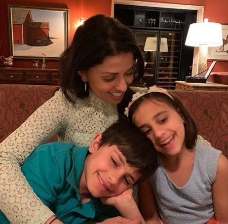 Reena Ninan Is A Mother Of Two Children