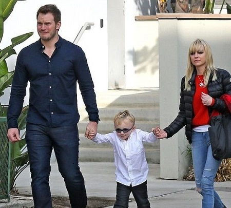 Chris Pratt His Divorced Wife With Their 6 Years Old Son, Jack Pratt