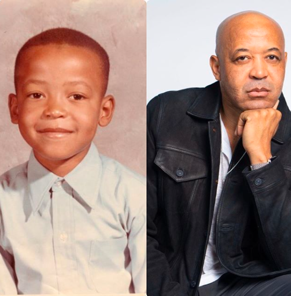 Rodney Demery is his early age(left) and at present picture.