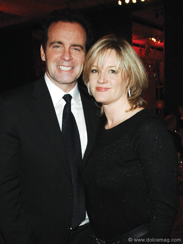Rod Black is enjoying a blissful married life with his beautiful wife, Nancy.