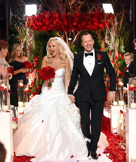 Donnie Wahlberg and Jenny McCarthy Weds In 2014 in St. Charles, Illinois