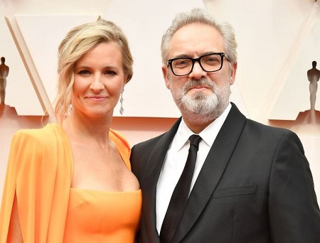 The director Sam Mendes is married to Alison Balsom since 2017.