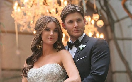 Actor, Jensen Ackles With His Model Bride, Danneel Ackles On Their Nuptials