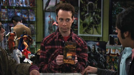 Kevin Sussman as Stuart Bloom on The Big Bang Theory