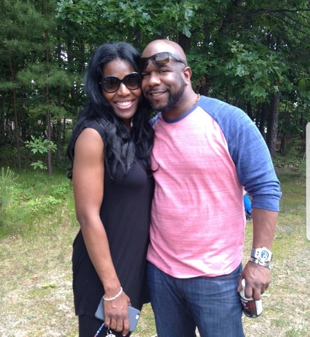 Wanya Morris With Her Husband, Wanya Morris