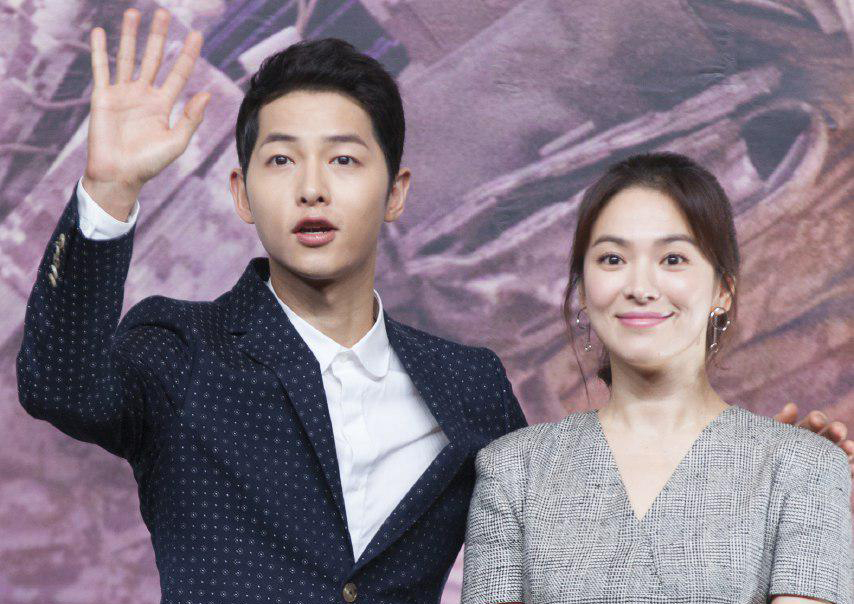Hye-Kyo was living a happy married life with her ex-husband Joong-Ki before they divorce in 2019.