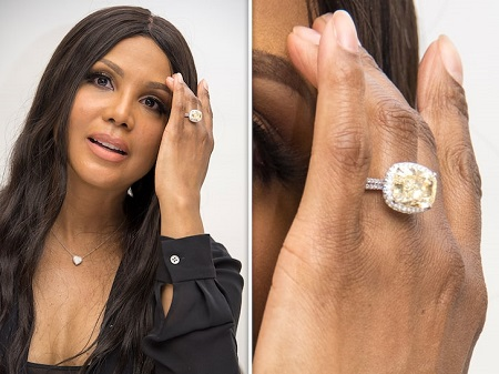 Toni Braxton's Flaunting Her Engagement Ring By Fiance, Birdman
