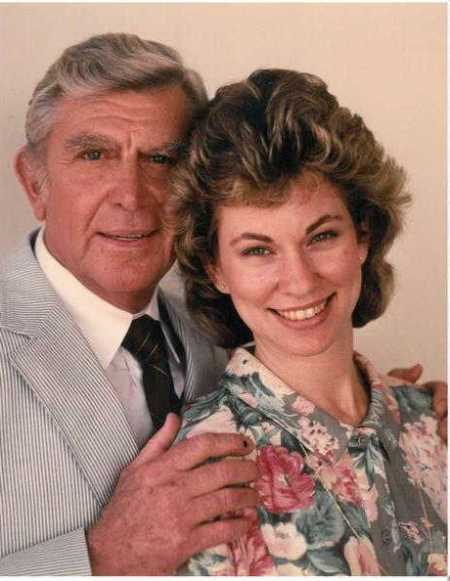 Cindi Knight and Andy Griffith