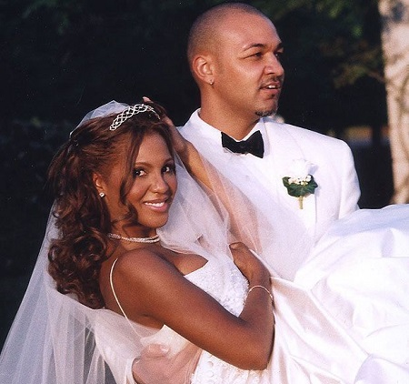 Diezel's Parents, Toni Braxton and Keri Lewis On Their Big Day