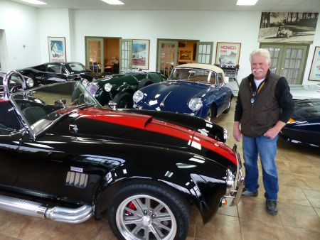Wayne Carini and his car collections.