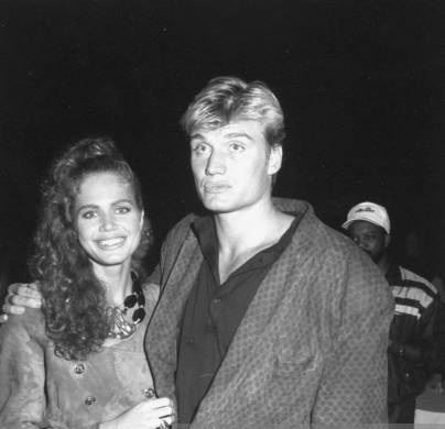 Dolph Lundgren And Former Model Girlfriend, Paula Barbier