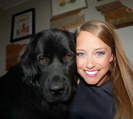 Jennifer Mcderemed, a dog lover works as a meteorologist at Fox 9 licensed to Minneapolis, Minnesota.