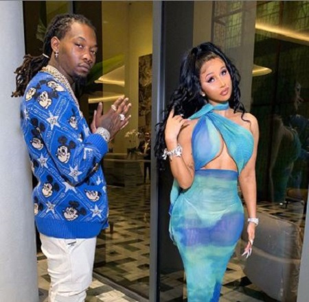 Offset was married to the American rapper Cardi B
