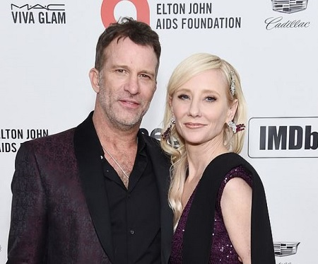 The actress Anne Heche and an actor Thomas Jane attended the Hollywood China Night Oscar together.