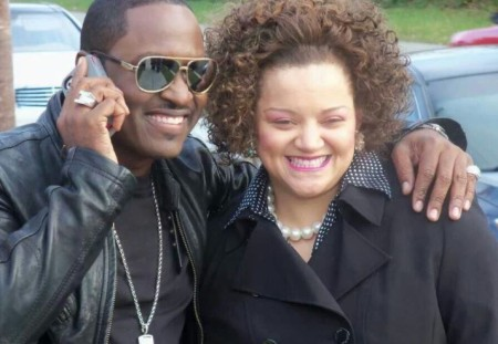 Stacy Lattisaw was in a relationship with her high school friend, Johnny Gill.