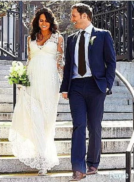 The Wedding Picture Of Josh Lucas and Jessica Ciencin Henriquez
