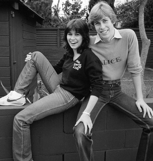 Philip with his sister Nancy McKeon in his early teenage.