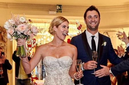 Kelley Cahill and Jon Rahm married in December 2019.