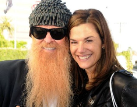 Billy Gibbons and his wife, Gilligan Stillwater.
