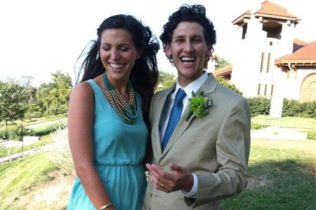 Lauren Glaser Along With Her Husband, Matthew Green