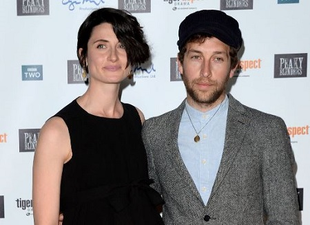 he English actress Natasha O'Keeffe is married to an actor Dylan Edwards since 2016