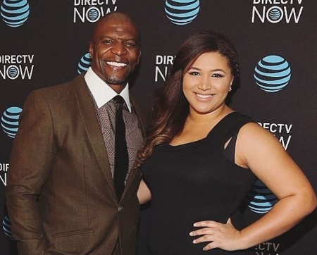 Azriel Crews is the second-born daughter of an American actor, comedian, former footballer, Terry Crews.