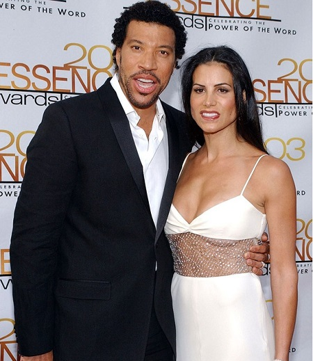 Lionel Richie Along With His Second Wife, Diane Alexander