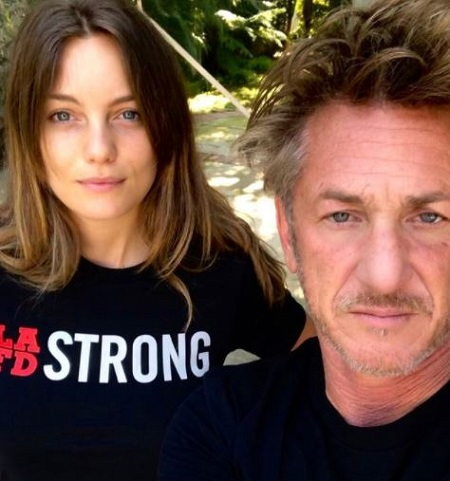 There are a 32-years of the age gap between Leila George and her husband, Sean Penn.