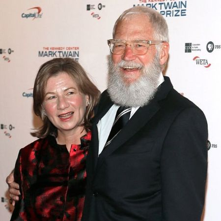 David Letterman and her second wife Regina Lasko