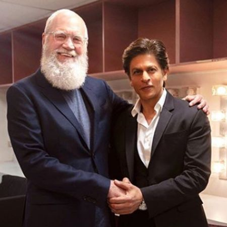David Letterman interviewed Bollywood star, Shahrukh Khan