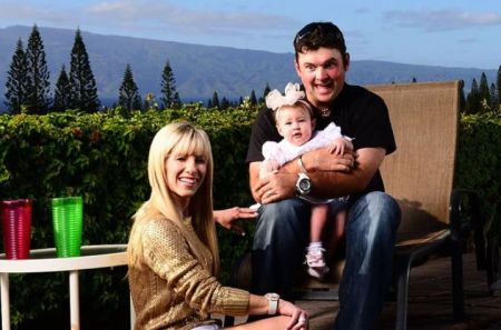 Patrick Reed and Justine Karain has two children.