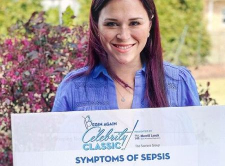 Audrey Hills suffered from Sepsis in 2015.