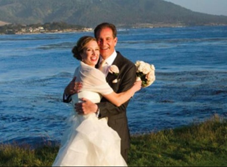 Courtney Richards and the sports analyst, Jim Nantz got married on June 9, 2012, in Pebble Beach.'