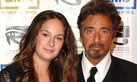 Al Pacino and His Daughter, Julie Marie