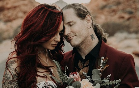 Stone Sour's Singer Corey Taylor Married His Fiancee, Alicia Dove In 2019