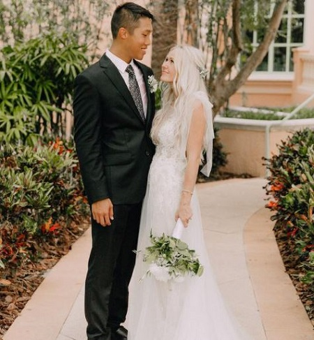 Keren Swanson and Khoa Nguyen are in a marital relationship since June 16, 2019.