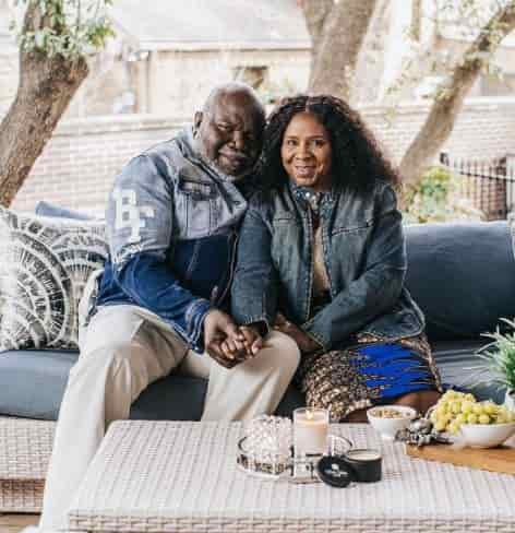 T.D. Jakes and wife, Serita Jakes