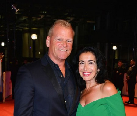 Mike Holmes is dating his girlfriend, Anna Zappia since 2000.