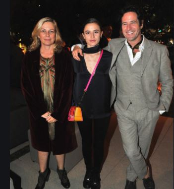 Rob Morrow wife and daughter