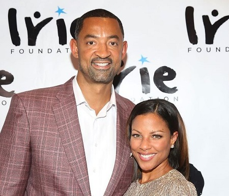 Jenine Wardally is the wife of an American former basketball player, coach, Juwan Howard.