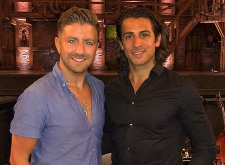 "Billy Gilman is in a romantic relationship with Christopher ""Chris"" Meyer."
