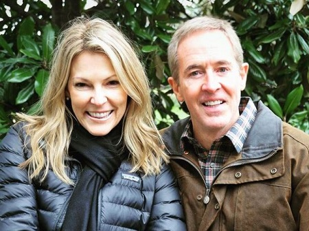 Andy Stanley with his wife Sandra Stanley.