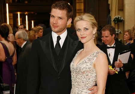 Ryan Phillippe and His Ex-Wife, Reese Witherspoon(m. 1999–2008)