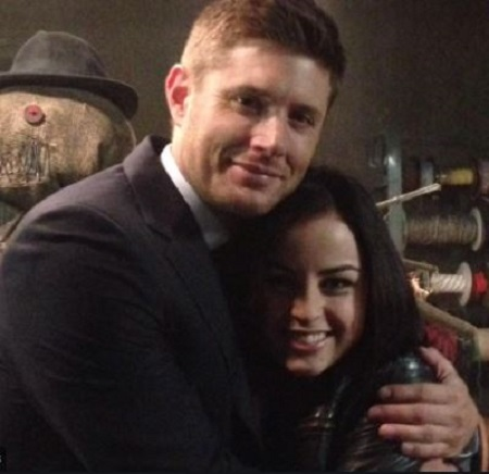 Katie Sarife and Her Co-Star, Jensen Ackles
