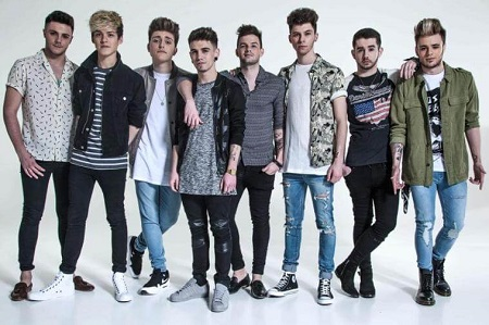 James Graham With His Former Band Members, Stereo Kicks